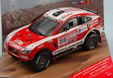 MITSUBISHI RACING LANCER N°310 DU RALLYE PARIS-DAKAR 2012 1/43ème