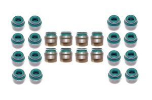 97-05 FITS CADILLAC CTS SAAB 9-5 SATURN LS300 3.0 3.2  DOHC 24V VALVE STEM SEALS