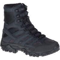 """Merrell Men Moab 2 8"""" Tactical Waterproof Boot Wide Width"""