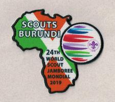 2019 World Scout Jamboree BURUNDI Contingent badge