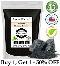 1lb Activated Charcoal Powder HARDWOO Food Grade Teeth Whitening Made in the USA