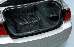 Rear Trunk Floor Style Organizer Mesh Web Cargo Net for BMW 3-Series 2001-2021