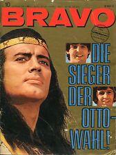 BRAVO 1966 n. 10: Beatles/Sonny & Cher/Clint Eastwood/Francoise Hardy