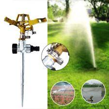 360° Rotary 1/2'' Water Irrigation Sprayer Sprinkler For Home Garden Yard Lawn