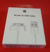 Original OEM 1 Meter 30 Pin To USB Charge Sync Cable for iPhone 3 3G 4 4s iPod