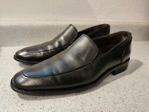 To Boot New York Slip On Leather Dress Loafers, Men's Size 8 Black EUC