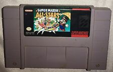 Super Mario All-Stars SNES Super Nintendo Tested And Working Free Shipping