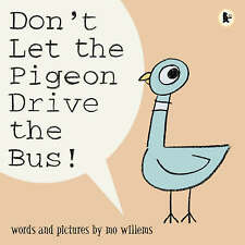 NEW Don't Let the Pigeon Drive the Bus! By Mo Willems Paperback Free Shipping