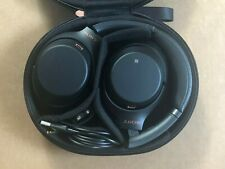 Sony Wh-1000Xm3 Wireless Noise-Canceling Over-Ear Headphones (Black) *No Box