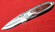 AIRBORNE  LOGO'D K&R ASI 363770 LIMITED EDITION POCKET KNIFE