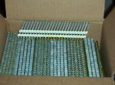 """2"""" x.113 (6d) R.S. HOT DIPPED GALV.Plastic Strip Nails 21degree"""