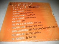 OUR BEST TO YOU TODAY'S GREAT HITS STARS LP EX Columbia TBS2 1967