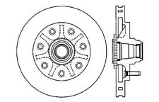 Centric Parts 121.65060 Front Disc Brake Rotor