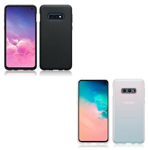 Silicone Slim TPU Gel Back Protector Case Cover for Samsung Galaxy S10e