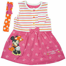 Disney Floral 100% Cotton Clothing (0-24 Months) for Girls