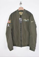 Nike Jets Green Bomber Jacket Salute to Service Size L New with tags