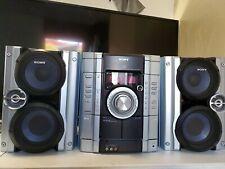 Sony Mini Hi-Fi Component System MHC GX250 -Tape CD AM FM