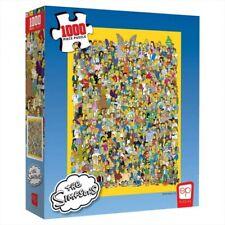 Puzzle: Simpsons 1000 Piece, Simpsons Casting Call Puzzle 1000 Piece Puzzle...