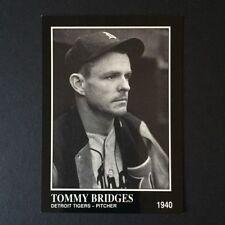 1991 Sporting News Conlon Collection TOMMY BRIDGES #180  Detroit Tigers