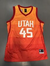 Utah Jazz Donovan Mitchell Jerseys Slam Dunk Champion Edition