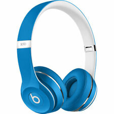 NEW Beats by Dr. Dre Solo2 Luxe Edition Wired On-Ear Foldable Headphones - Blue