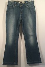 GAP Long & Lean Size 6 ANKLE BOOTCUT Jeans Stretch