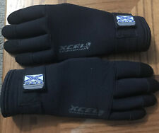 One Pair Scuba Diving Gloves-used Twice Xcel Titanium Size Large Made Thailand
