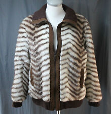 Because it's by Gino Rossi, Size 14 Striped Jacket