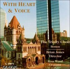 With Heart & Voice The Trinity Choir - Boston, Brian Jones, Ross Wood Audio CD