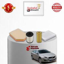 KIT TAGLIANDO FILTRI VOLVO V60 2.0 D3 120KW 163CV DAL 2010 ->
