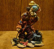 "Ganz Cottage Resin Figurine by Lorraine Chien, #CC2064 THE AVIATORS, 5.25"" Bear"