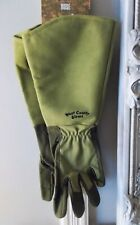 GARDEN GLOVES-FULL LENGTH GAUNTLET ROSE THORN AND BRAMBLE RESISTANT NEW
