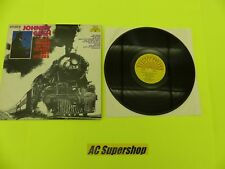 """Johnny Cash story songs of the trains and rivers - LP Record Vinyl Album 12"""""""