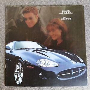 JAGUAR XK8 Coupe Cabrio ZUBEHÖR Parts Options Prospekt Brochure 30x30cm 1996 G