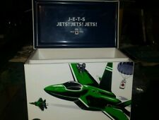 Miller Lite beer New York Jets Nfl Football Metal Beer Cooler Brand New In Box