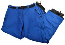 Womens Columbia Snowboard Ski Pants L Convert Omni Tech Waterproof Burton Belt