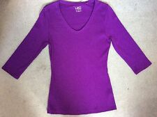 Women's 3/4 Sleeve T-Shirts without Pattern