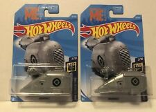Dispicable Me Grumobile Hot Wheels 2018 Lot Of 2. Free Shipping