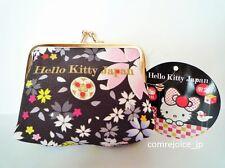 Hello Kitty SANRIO Wallet Coin Case Kawai Cute GAMAGUCHI JAPAN L/E BRAND NEW F/S