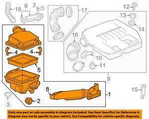 GM OEM Air Cleaner Intake-Filter Box Housing 20871246
