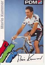 CYCLISME carte  cycliste MARIO KUMMER équipe PDM