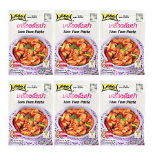 6 x 30g Lobo Tom Yum Goong Paste, Authentic Taste of Thai Food