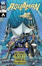 Aquaman #34 Main Cover Dc Nm