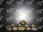 10 x Custom WWF WWE Title Belts For Hasbro Mattel Wrestling Figures ECW NXT WCW