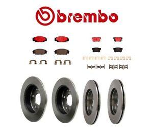 For Acura RSX Type-S Front & Rear Full Brembo Brake Kit Disc Rotors Ceramic Pads