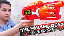 I guerrieri dell'aria The Walking Dead Carl'S Revolver Schiuma Dart Tiro pistola 6 x freccette