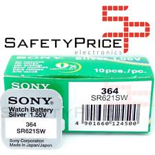 Batteria Sony 364 Sr621sw Sr60 1 55v PILA 0 Mercurio Battery Ossido D'argento