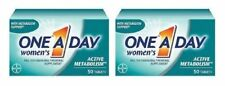 One-A-Day, Women's Active Metabolism, Multivitamin/Multimineral 2 Bottle Pack