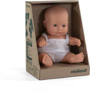 Miniland Doll Caucasian Girl Anatomically Correct Vanilla Scented 21cm