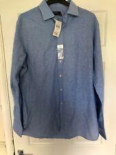 Polo Ralp Lauren Regent Dress Shirt Blue Size 17
